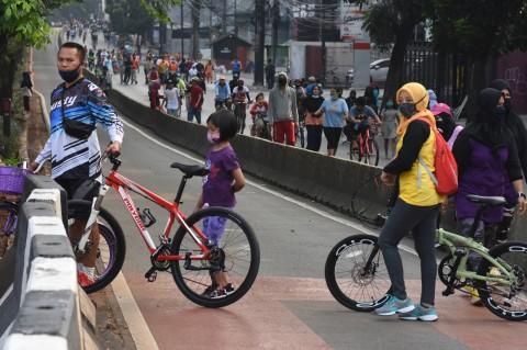 Pemprov DKI Siapkan 30 Titik Kawasan Khusus Pesepeda