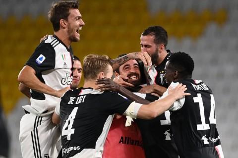 Juve Juara Liga Italia Sembilan Kali Secara Beruntun