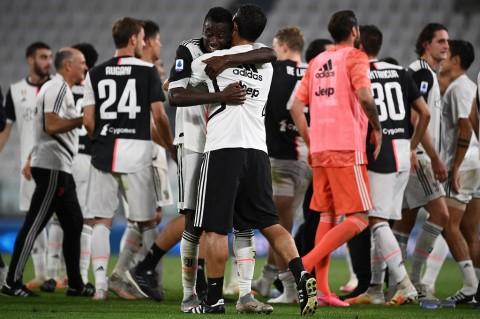 Hasil Lengkap Pertandingan: MU ke Liga Champions, Juventus <i>Scudetto</i>
