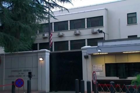 Bendera AS Diturunkan dari Gedung Konsulat di Tiongkok
