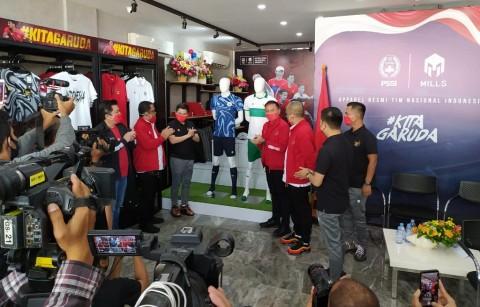 Timnas Rilis <i>Jersey</i> Tandang yang Sangat Indonesia