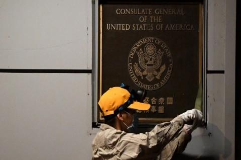 Tiongkok Ambil Alih Bekas Gedung Konsulat AS di Chengdu