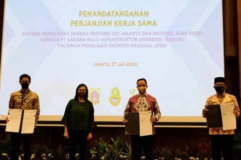 DKI dan Jabar Dapat Pinjaman untuk Pemulihan Ekonomi dari SMI