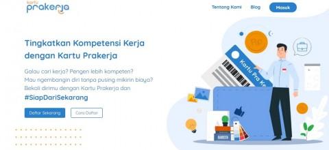 <i>Typo</i>, 2 Juta Pendaftar Kartu Prakerja Tak Lolos