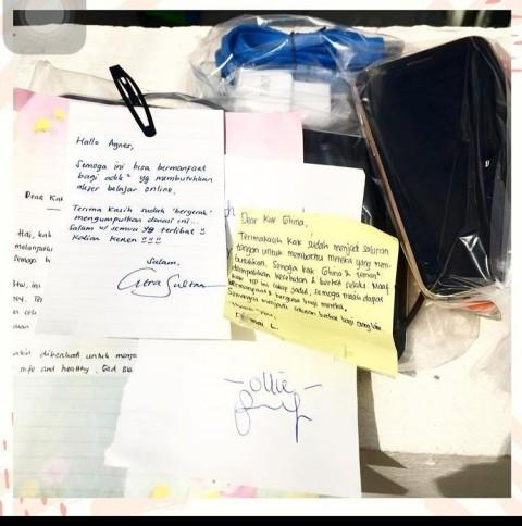 Sejumlah Wartawan Inisiasi Gerakan Donasi Ponsel Pintar untuk Pelajar