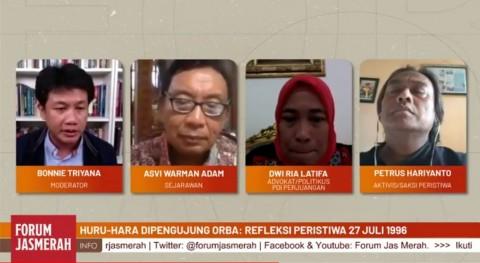 Sejarawan: Peristiwa Kudatuli Sebelum Megawati Bertemu Menlu AS