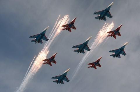 Rusia Klaim Cegat Pesawat Pengintai AS di Laut Hitam