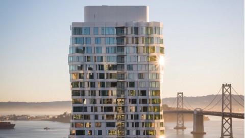 Mira Tower, Apartemen dengan Fasad Memilin