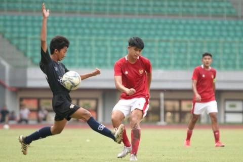 Timnas U-16 Dapat Pelajaran dari Bina Taruna U-18