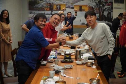 Sambutan Hangat PSSI untuk Shin Tae-yong