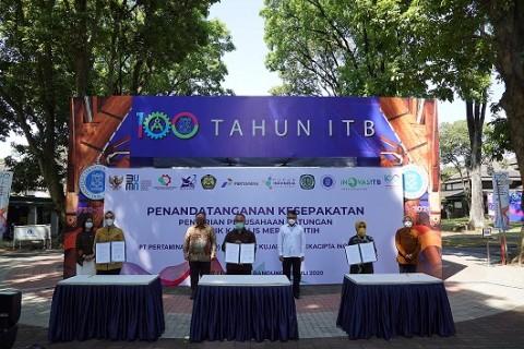Pabrik Katalis Nasional Pertama Hasil Pengembangan ITB Dibangun 2021