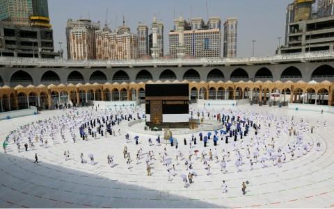 244 Orang Ditangkap Mencoba Masuk ke Mekkah Tanpa Izin