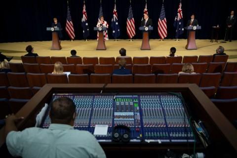 AS-Australia Ajak Sekutu Lawan Klaim Tiongkok di LCS