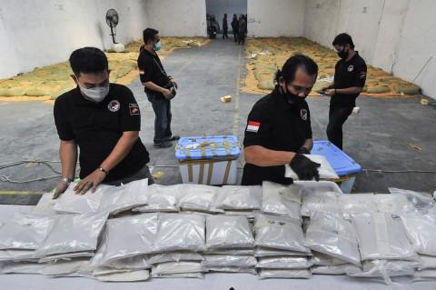 Polisi Ungkap Penyelundupan 200 Kg Sabu Asal Myanmar
