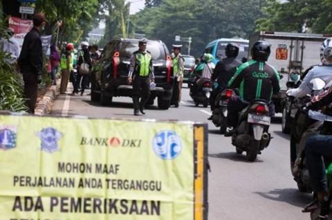 43.888 Warga Jakarta Langgar Lalin Selama Tujuh Hari