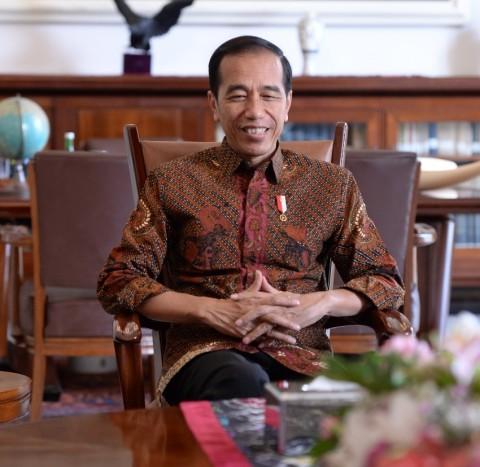 Jokowi Salat Iduladha di Istana Bogor