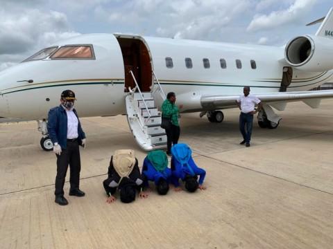 Bebas dari Penculikan di Gabon, Tiga ABK WNI Kembali ke Keluarga