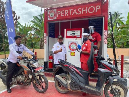 Pertashop Pertama Rambah Sulawesi Tengah