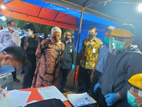 Pedagang Kuliner TMP Kalibata Dites Cepat