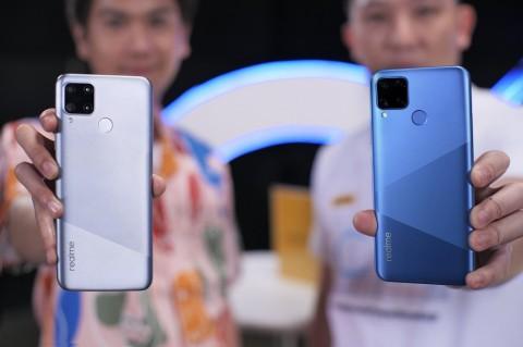 Smartphone Rp2 Juta realme C15 Bersiap Open Sale
