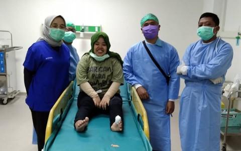 Kekeyi Dirawat di Rumah Sakit Setelah Terinjak Sapi