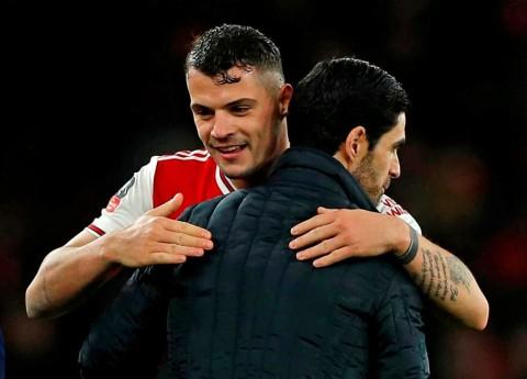 Berkat Arteta, Xhaka Batal Tinggalkan Arsenal