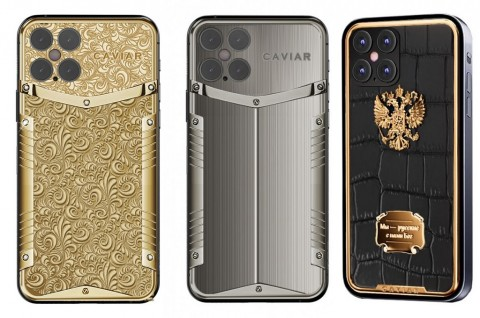 Caviar akan Hadirkan iPhone 12 Pro Berbalut Emas dan Berlian