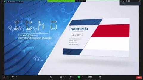 Pelajar Indonesia Raih Empat Medali di Olimpiade Kimia Internasional