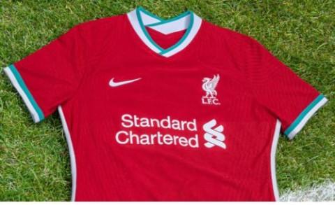 Liverpool Perkenalkan Jersey Kandang Musim 2020--2021