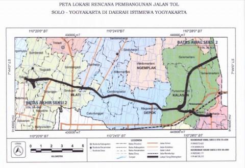 DIY Jamin Tol Yogyakarta-Solo Tak Ganggu Ekonomi Masyarakat
