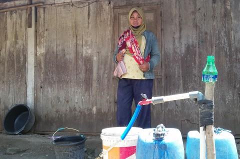 Kemarau, Warga Diimbau Utamakan Air Bersih untuk Konsumsi