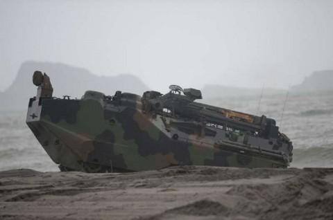 Delapan Prajurit AS Dikhawatirkan Tewas dalam Kecelakaan Laut