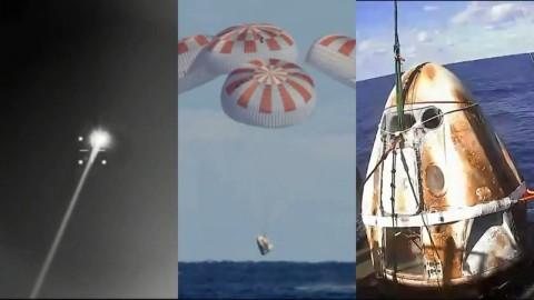 Crew Dragon Berhasil Kembali Bumi, Misi Selanjutnya Menanti