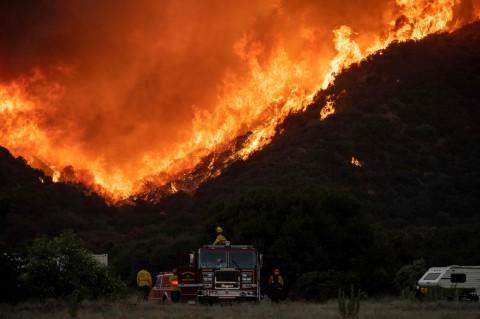 8.000 Hektare Lahan di California Terbakar