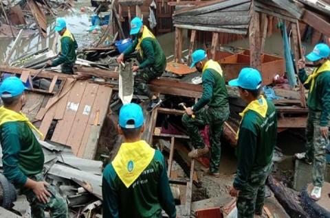 Banjir Bandang akibat Badai Sinlaku Tewaskan 4 Orang