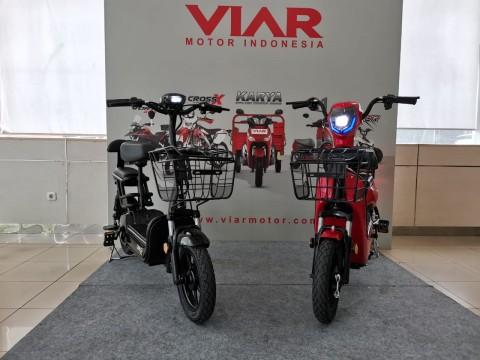 Duo Sepeda Viar Anti Capek, Si Uno & Akasha