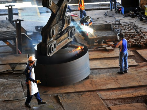 Krakatau Steel Catat Laba USD4,51 Juta