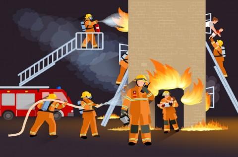 Kebakaran Melanda Kawasan Industri Dekat Ibu Kota Iran