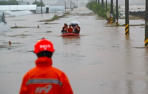 Banjir di Korsel Telah Tewaskan 13 Orang