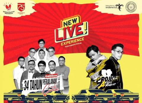 Kahitna, Armand Maulana dan Afgan Tampil di Konser New Live! Experience