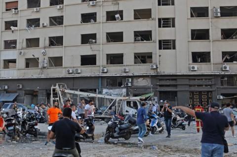 Lebanon Buru Pihak di Balik Ledakan di Beirut