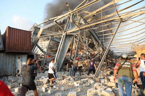 Ledakan di Lebanon Berasal dari 2.700 Ton Amonium Nitrat