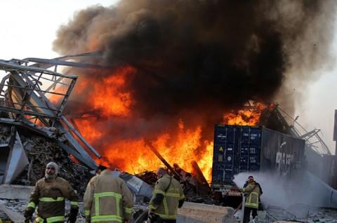 Kontingen TNI Terhindar dari Ledakan di Lebanon
