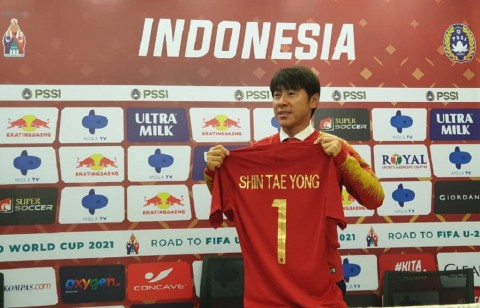Shin Tae-yong Kok Tak Tahu Kapan Latihan Timnas Indonesia Dimulai