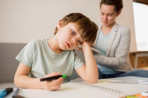 Kemenkes: Anak Rentan Alami Gangguan Psikososial saat Belajar di Rumah