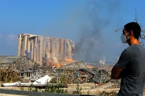 Kesaksian Warga yang Selamat dari Ledakan Besar Beirut