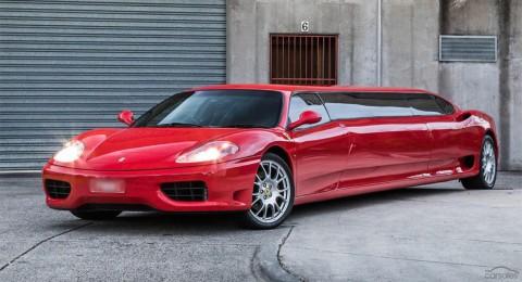 Satu-Satunya Ferrari 360 Modena Limousine ini Dijual