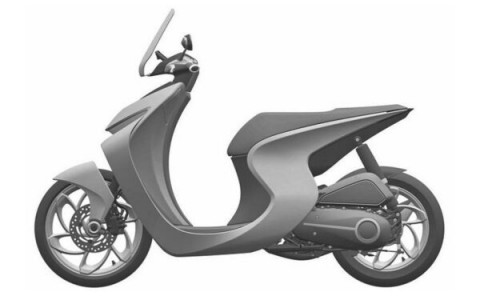 Patent Skuter Baru Honda, Generasi Selanjutnya Scoopy?