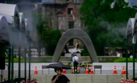 Jepang Peringati 75 Tahun Jatuhnya Bom Atom Hiroshima