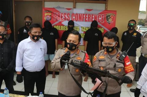 Pemuda Pengeroyok Polisi di Tangerang Ditangkap